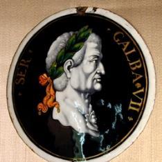 Placa del emperador Galba