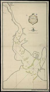 Plano del Puerto y Río de Apalache (La Florida)