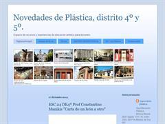 Novedades de Plástica, distrito 4º y 5º.