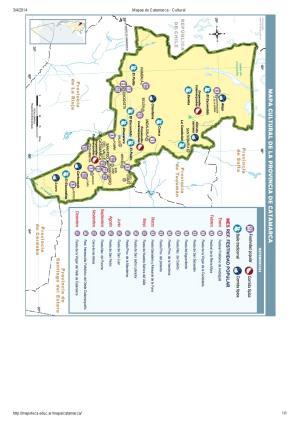 Mapa cultural de Catamarca. Mapoteca de Educ.ar