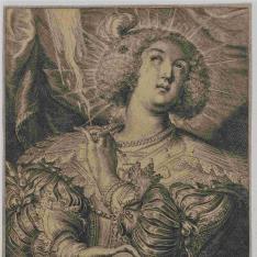 Mujer con joyas