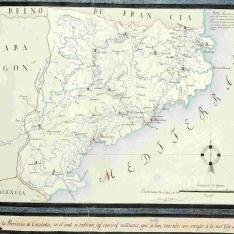 Mapa de la Provincia de Cataluña
