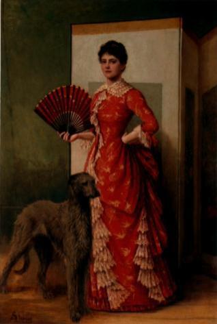 La dama del lebrel