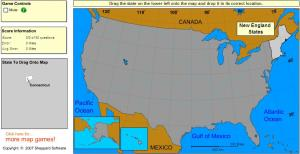 States of United States. Intermediate. Sheppard Software
