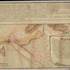 Plano Del Pueblo y Castillo de San Fernando de Omoa
