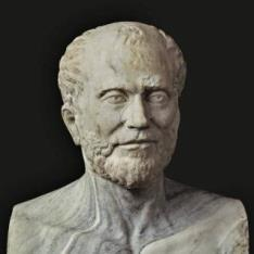 Retrato de un griego culto
