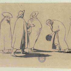 Cinco figuras de hombres