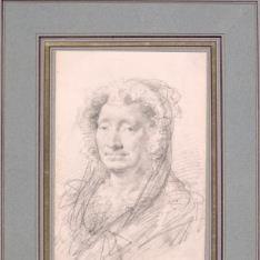 Retrato de Adélaïde-Gillette Dufrénoy