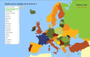 Capitales de l'Europe. Toporopa