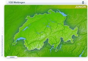 Städte der Schweiz junior. Geographie Spiele