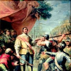 Rebelión de unos soldados