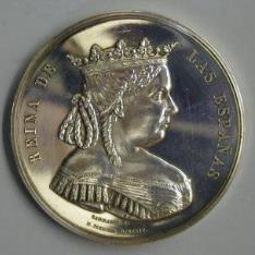 Medalla conmemorativa de la cesión del Patrimonio Real