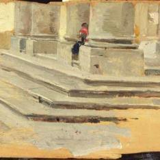 Detalle de una escalera