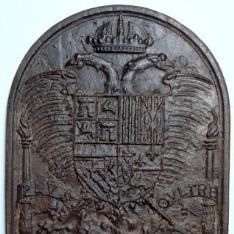 Placa de trasfondo de chimenea