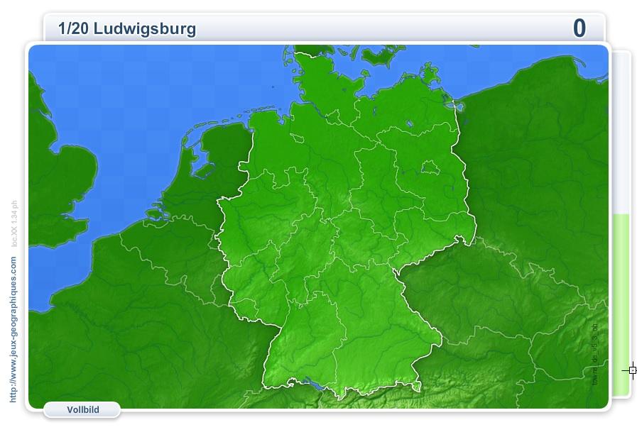Flash Karte Von Deutschland Stadte Deutschlands Geographie Spiele