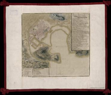 Plano del Proyecto del Arzenal de Carttagena de Levantte