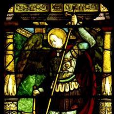 San Miguel pesando las almas