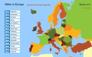 Häfen in Europa. Toporopa