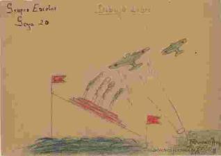 Bombardeo a barco