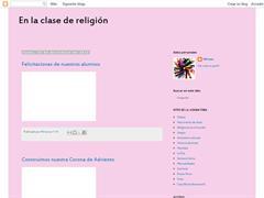 EN LA CLASE DE RELIGIÓN