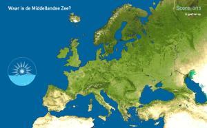 Zeeën van Europa. Toporopa