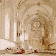 Refectorio de la Catedral de Pamplona (España)