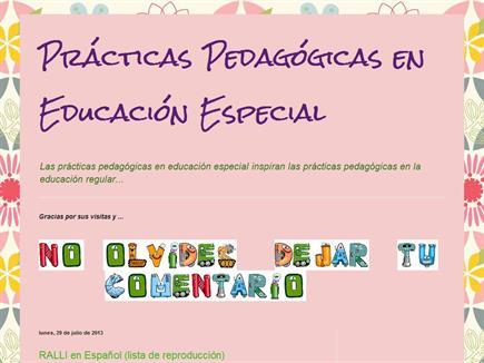 Practicas Pedagogicas en Educacion Especial
