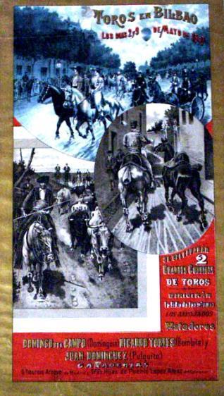 Toros en Bilbao / los días 2 y 9 de mayo de 1897...