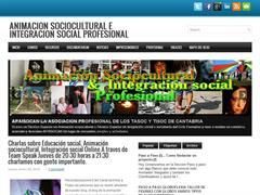Animación sociocultural e integración social profesional