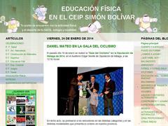 Educación Física en el CEIP Simón Bolívar