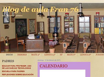 Blog de aula Fran 76