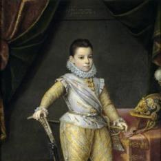 Felipe Manuel de Saboya a los cinco años
