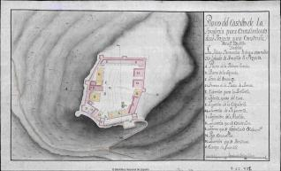 Plano del Castillo de la Fongirola