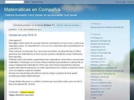 Matemáticas en Compañía