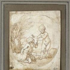 San Juanito y el Niño Jesús