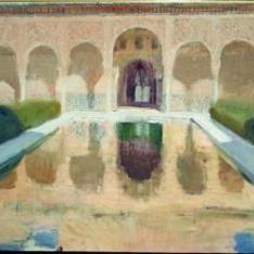 El Patio de Comares, La Alhambra de Granada