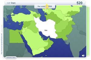 Geo Quizz Medio Oriente. Giochi geografici
