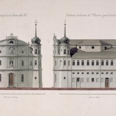 Proyecto para la Iglesia de Nuestra Señora del Buen Suceso en Madrid