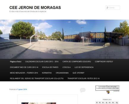 CEE JERONI DE MORAGAS. El dia a dia d'una escola d'educació especial