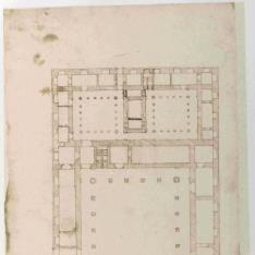 Planta del Colegio de San Buenaventura de Sevilla