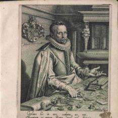 Retrato de Abraham Gorlaeus