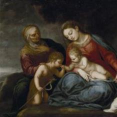 La Virgen y el Niño con Santa Isabel y San Juan