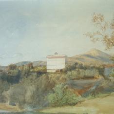 Casa en medio del campo