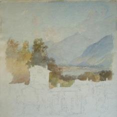 Pueblo de montaña