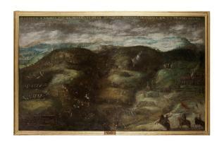 Batalla en Italia - Batalla ocurrida el 20 de mayo de 1615 en las colinas septentrionales de Asti