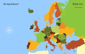 Regionen in Europa. Toporopa