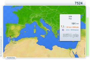 Ciudades del Mar Mediterráneo. Juegos Geográficos