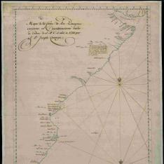 Mapa de la Costa de los Patagones