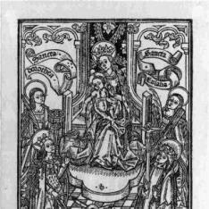 La Virgen y el niño con Santa Dorotea y Santa Eulalia