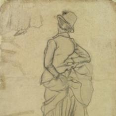 La mujer del galgo